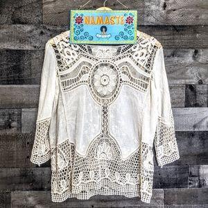 Bohemian Beautiful Hippie Crochet Lace